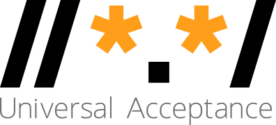 Universal Acceptance Steering Group (UASG) Retina Logo