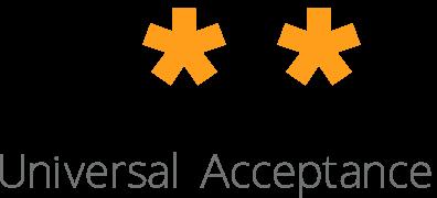 Universal Acceptance Steering Group (UASG) Retina Logo
