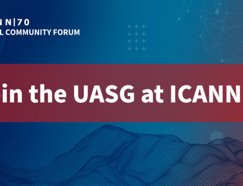 Join the UASG at ICANN70