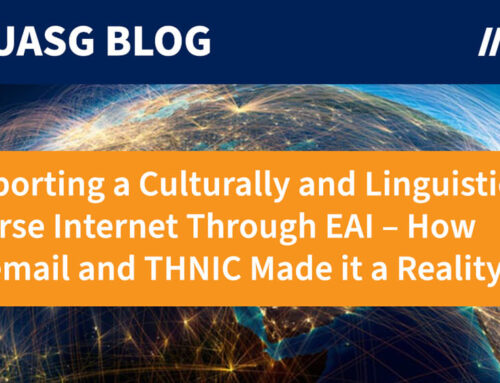 Supporting a Culturally and Linguistically Diverse Internet Through Email Address Internationalization (EAI) – How Coremail and THNIC Made it a Reality