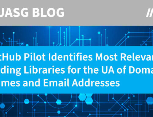 GitHub Pilot Identifies Most Relevant Coding Libraries for the Universal Acceptance of Domain Names and Email Addresses